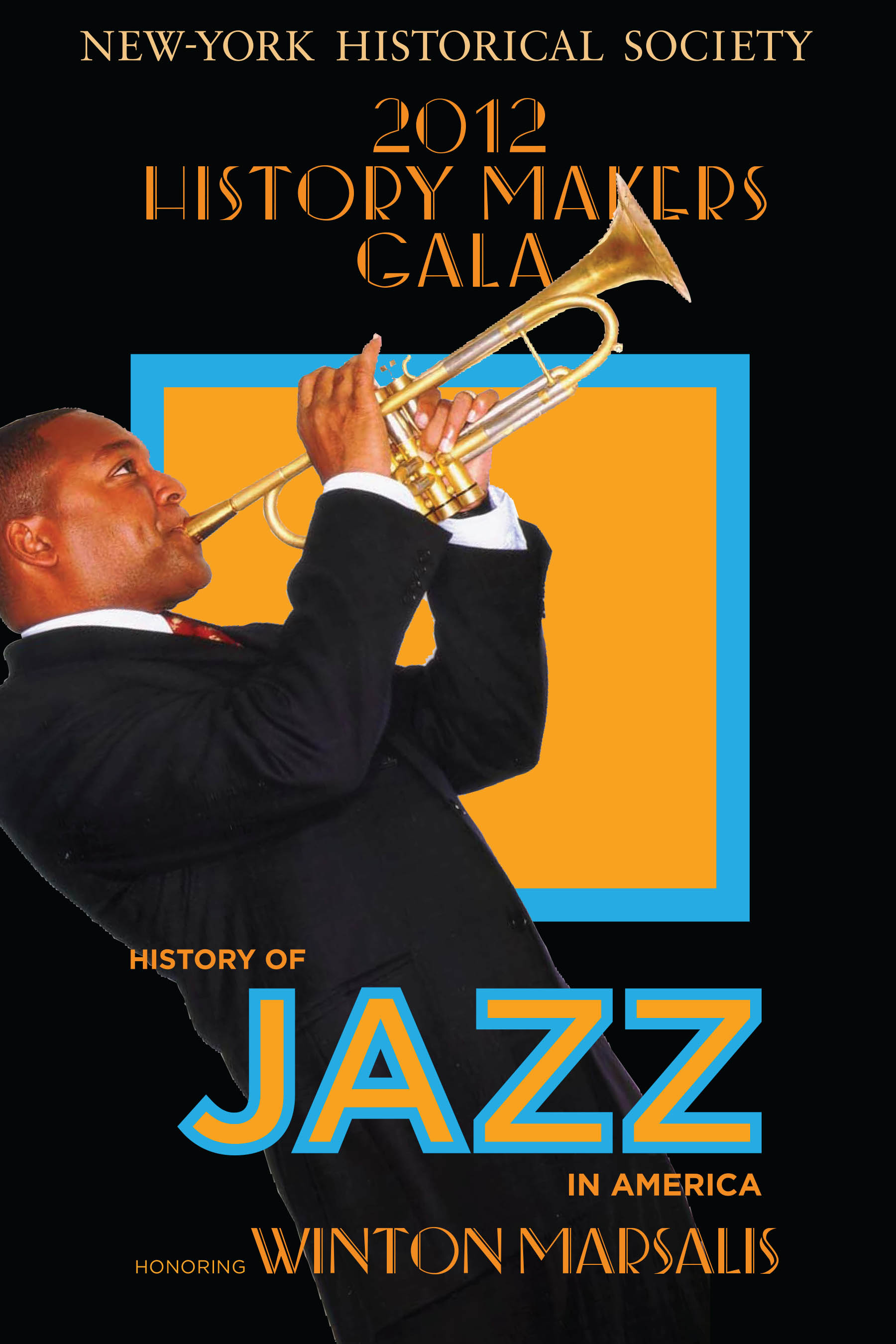 NYHS JAZZ poster